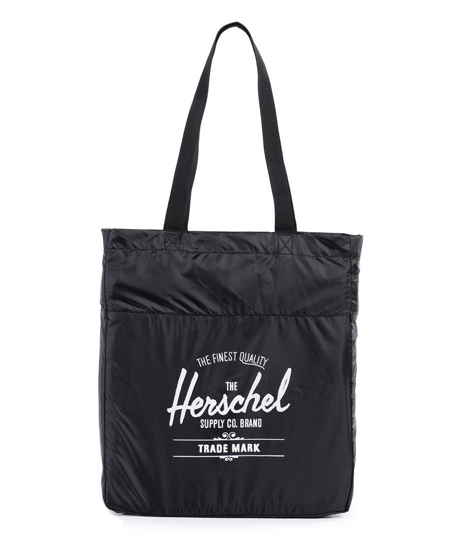 Herschel Supply Co. Reistassen Packable Travel Tote Zwart