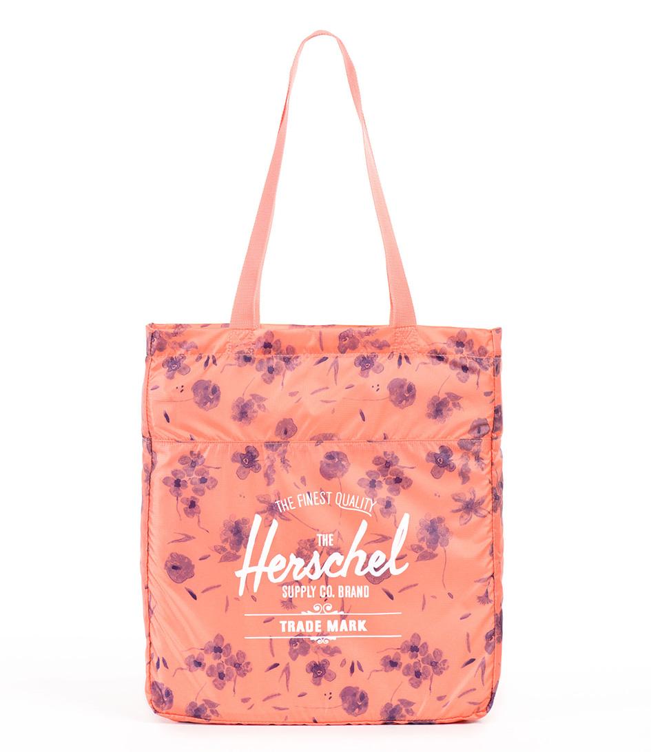 Herschel Supply Co. Reistassen Packable Travel Tote Rood