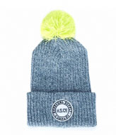 Herschel Supply Co. Alpine Youth heathered grey neon lime (0272)