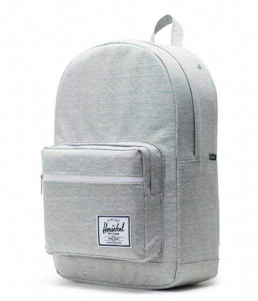 Herschel Supply Co. Laptop rugzak Pop Quiz 15 Inch light grey crosshatch (01866)