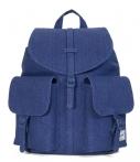 Herschel Supply Co.-Laptoptassen-Dawson Womens Cotton Canvas-Blauw