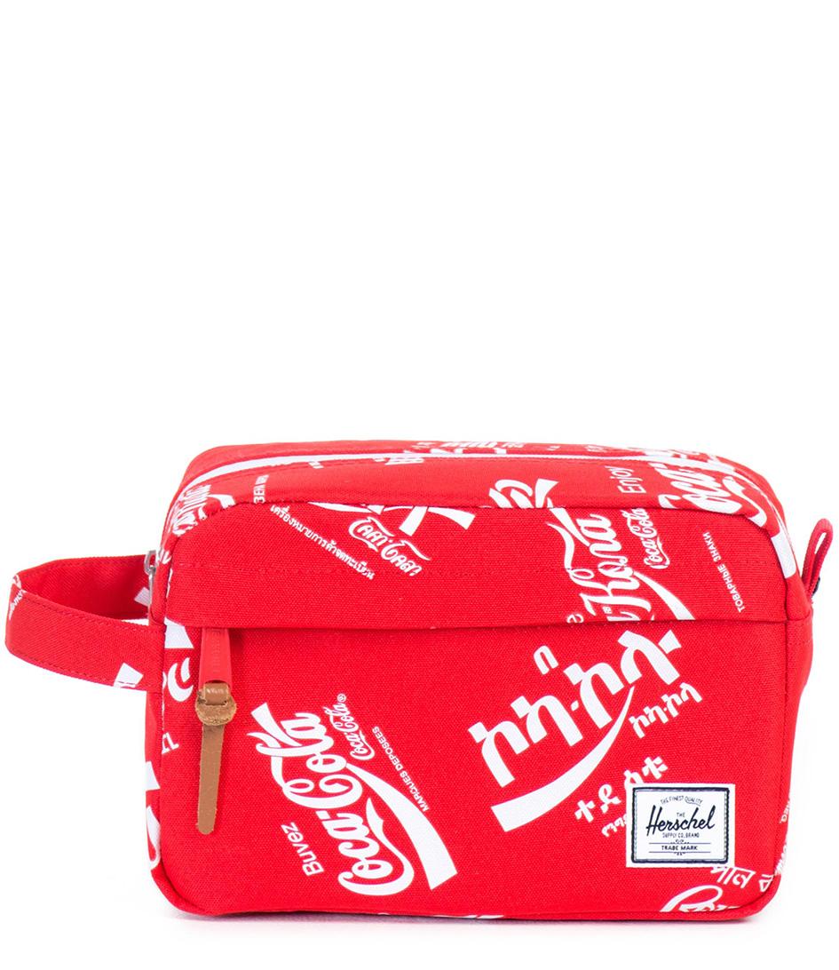 Herschel Supply Co. Toilettassen Chapter Coca Cola Rood