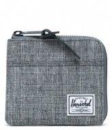 Herschel Supply Co. Johnny Wallet raven crosshatch (00919)