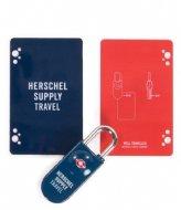 Herschel Supply Co. TSA Card Lock navy red (00018)