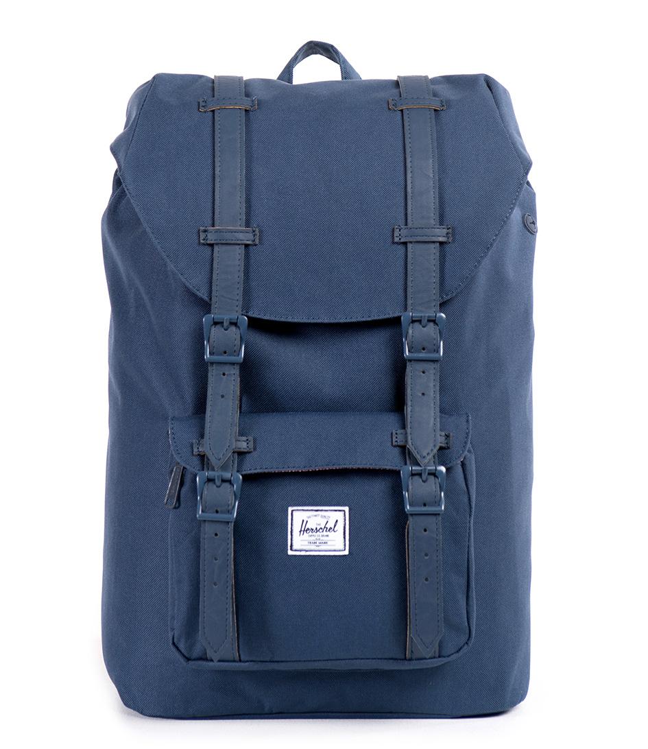 Herschel Supply Co. Laptoptassen Little America Mid Volume Blauw