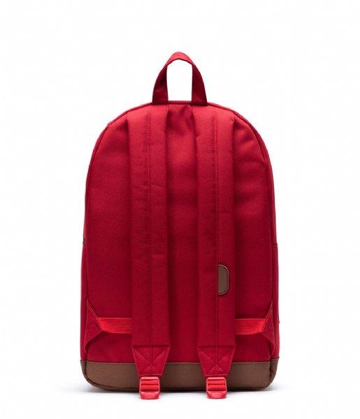 Herschel Supply Co. Laptop rugzak Pop Quiz 15 Inch red saddle brown (03271)
