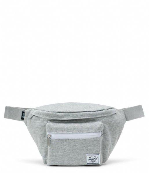 Herschel Supply Co. Heuptas Seventeen light grey crosshatch (01866)