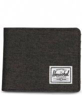 Herschel Supply Co. Roy Wallet RFID Black Crosshatch