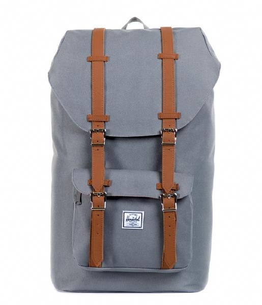Herschel Supply Co. Laptop rugzak Little America 15 Inch grey & tan (00006)