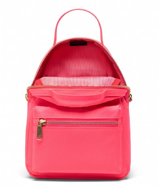Herschel Supply Co. Dagrugzak Nova Mini neon pink black (03549)