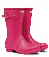 Hunter Boots Original Short bright pink