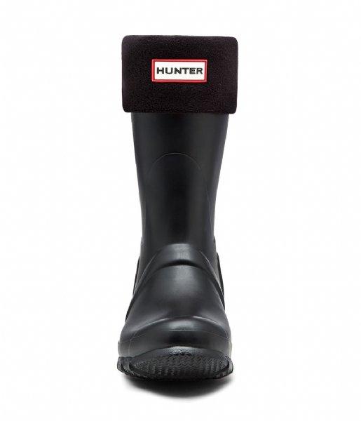 Hunter Sokken Boot Sock Short Black