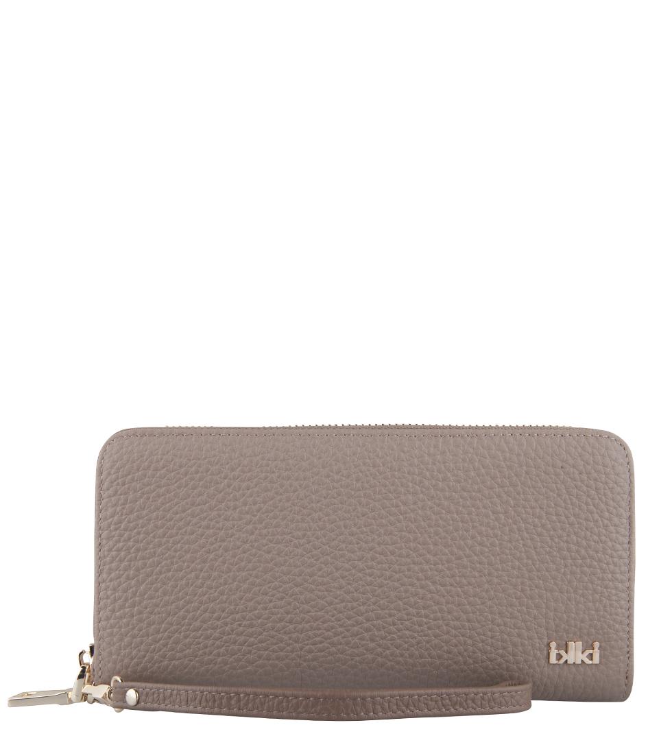IKKI Portemonnees Sophie Large Wallet Taupe