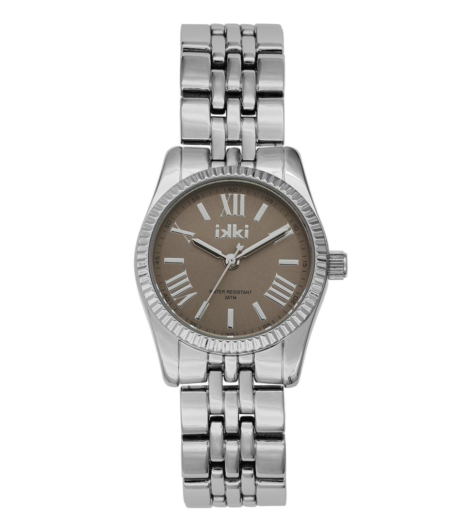 IKKI Horloges Watch Pippa Silver Taupe