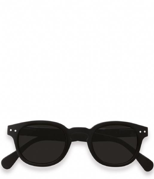 Izipizi Zonnebril op sterkte #C Reading Sunglasses black soft grey