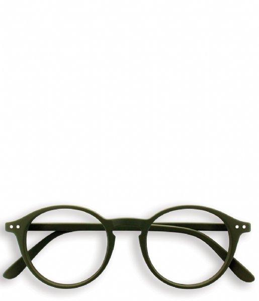 Izipizi Leesbril #D Reading Glasses kaki green
