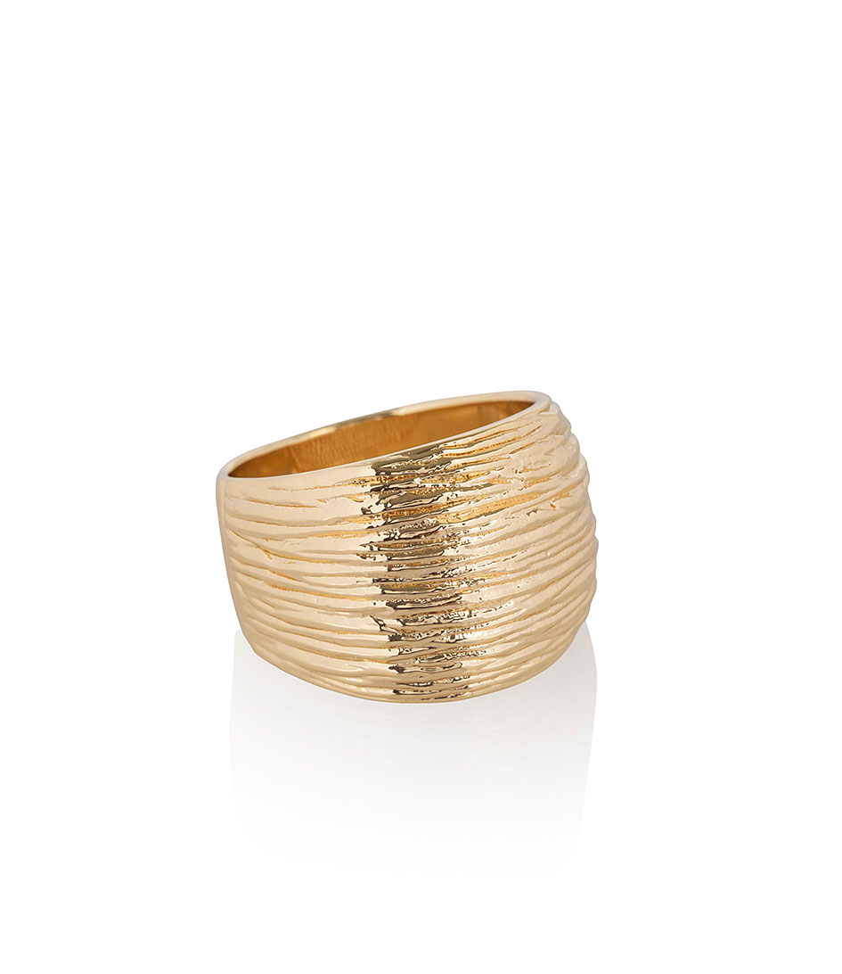 Jewellery by LouLou Ringen Elegance Plated Ring Goud