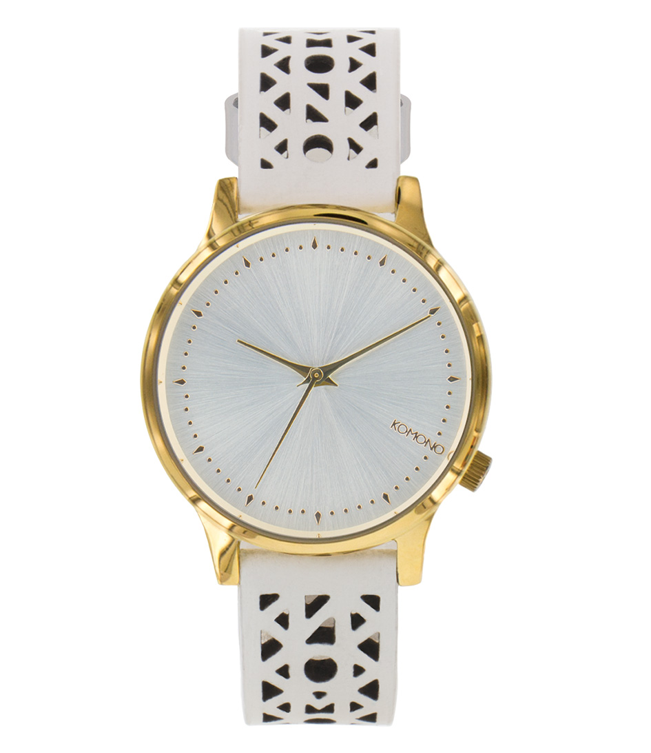 KOMONO Horloges Estelle Cutout Wit