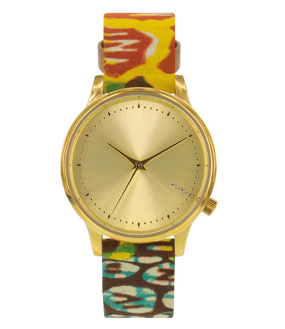 KOMONO Horloges Vlisco Estelle Goud