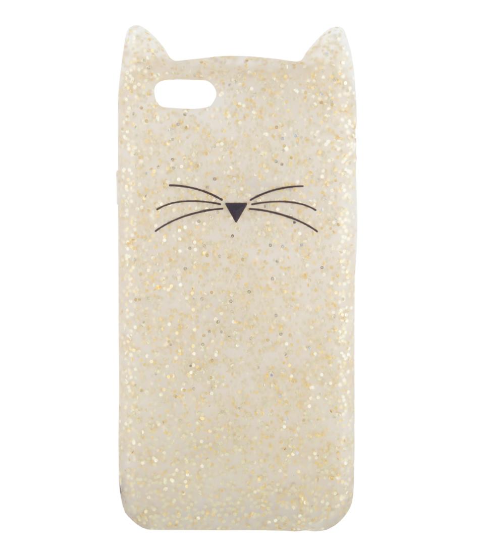 Kate Spade Glitter Cat Iphone  Case