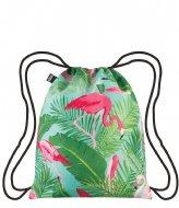 LOQI Backpack Wild flamingos