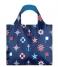 LOQI Handtas Foldable Bag Nautical classic