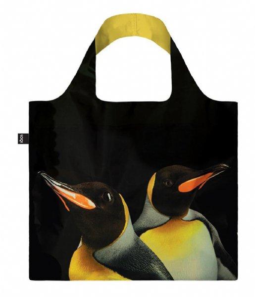 LOQI Shopper Bag National Geographic king penguins