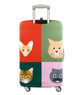 LOQI Luggage Cover cats