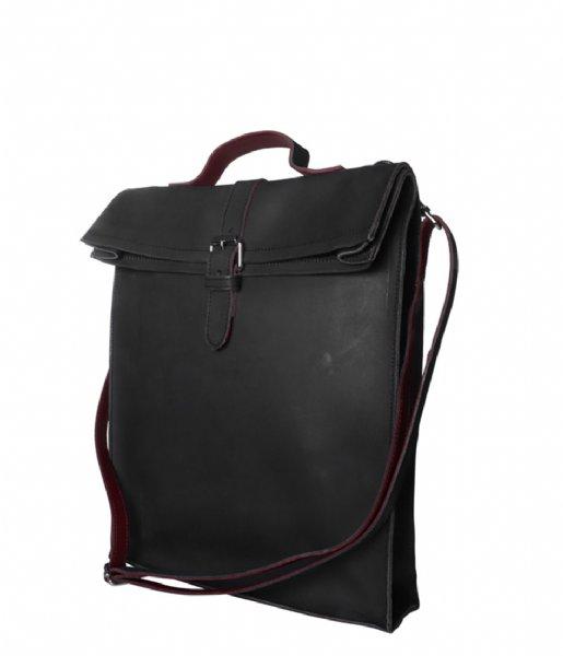Laauw Laptop schoudertas Nine Streets Laptop Bag 15 Inch black
