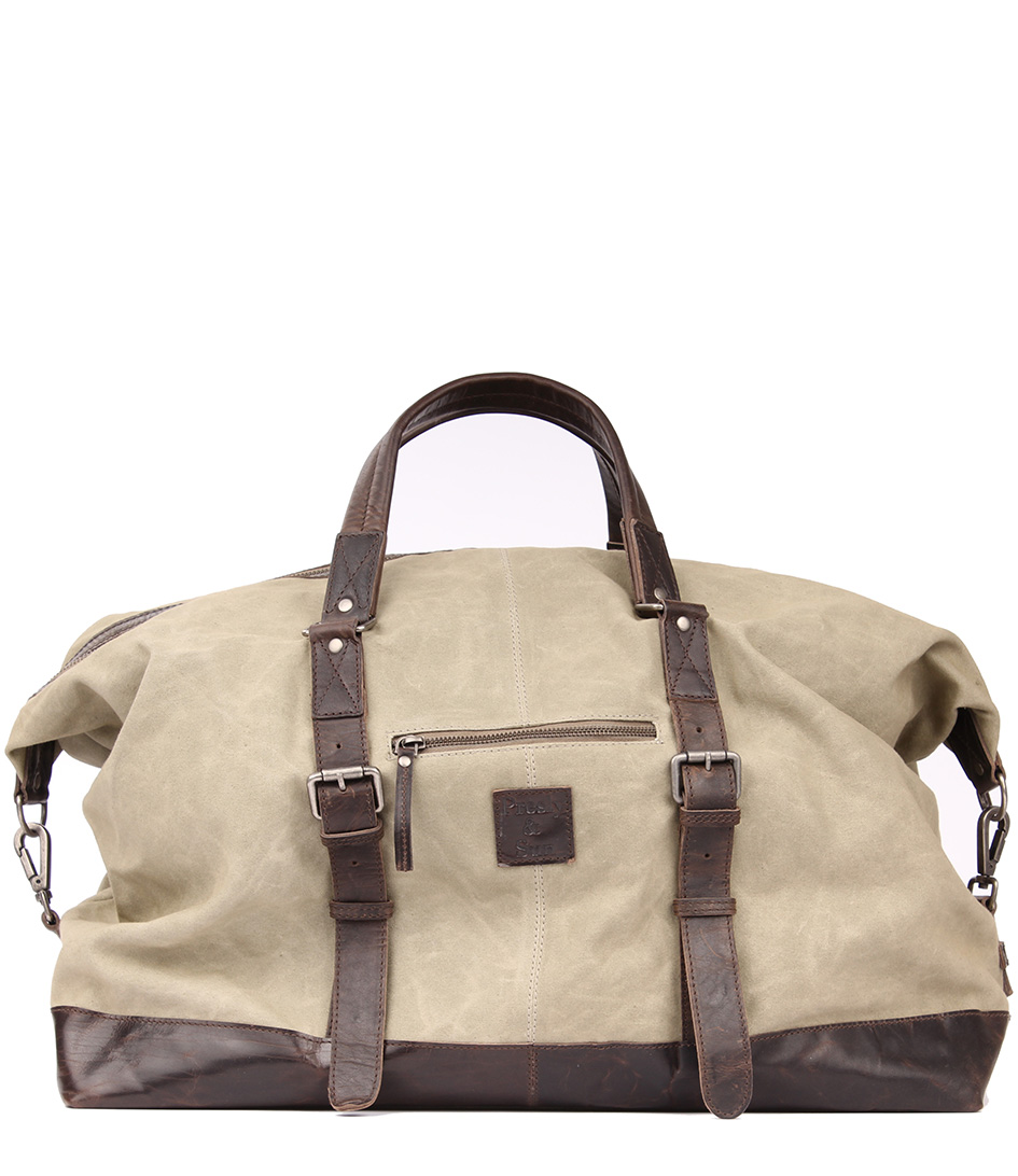 Weekend Tassen Dames : Weekend bag grey legend the little green