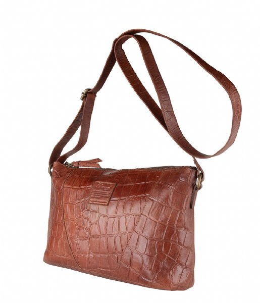 Legend Crossbodytas Badia Croco tan