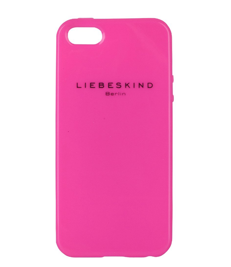 iphone 5 cover neon pink liebeskind the little green bag. Black Bedroom Furniture Sets. Home Design Ideas