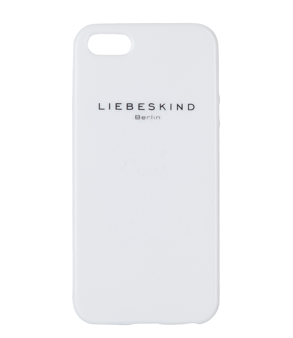 iphone 5 cover white liebeskind the little green bag. Black Bedroom Furniture Sets. Home Design Ideas