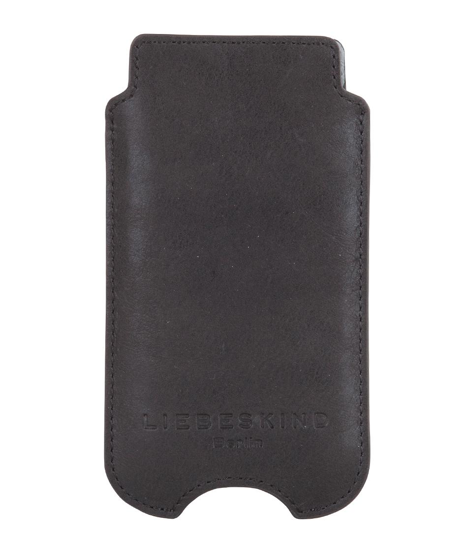 iphone 5 cover black liebeskind the little green bag. Black Bedroom Furniture Sets. Home Design Ideas