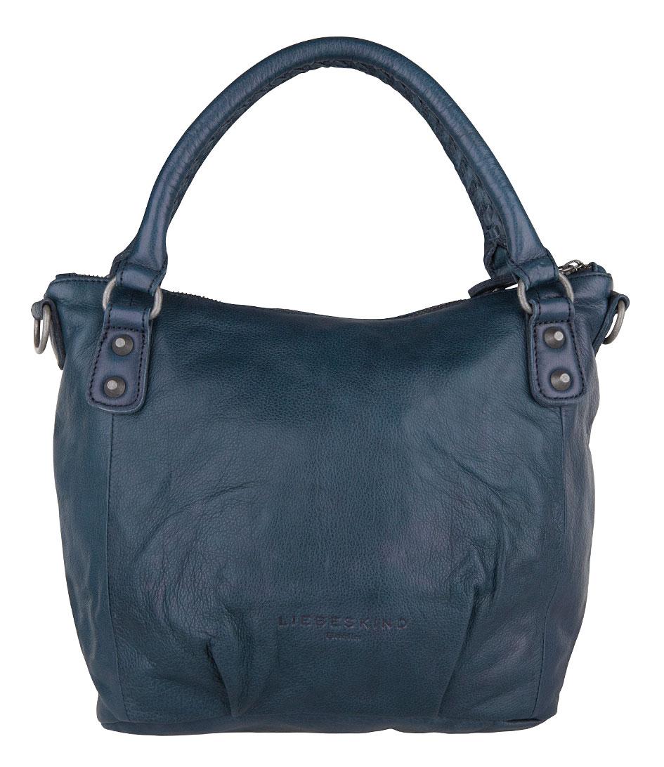 gina vintage dark blue liebeskind the little green bag. Black Bedroom Furniture Sets. Home Design Ideas