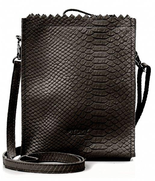 MYOMY Crossbodytas My Paper Bag Baggy anaconda black (10413062)