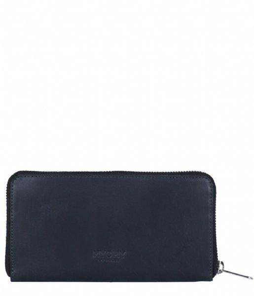 MYOMY Ritsportemonnee My Paper Bag Wallet Large hunter off black (10461081)
