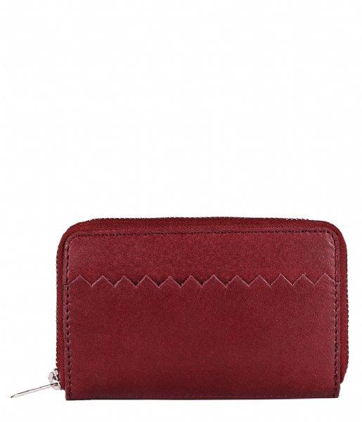 MYOMY Ritsportemonnee My Paper Bag Wallet Medium hunter waxy burgundy (101093011)