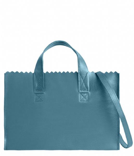 MYOMY Crossbodytas My Paper Bag Mini Handbag Crossbody Petrol (1076-83)