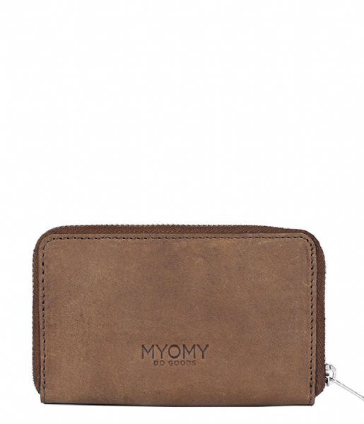 MYOMY Ritsportemonnee My Carry Bag Wallet Medium RFID hunter original (801110001)