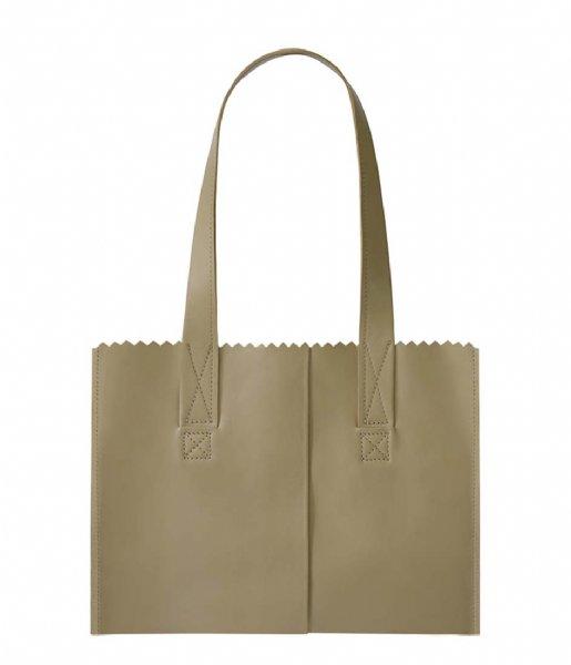 MYOMY Schoudertas MY PAPER BAG Handbag sand (1057-80)