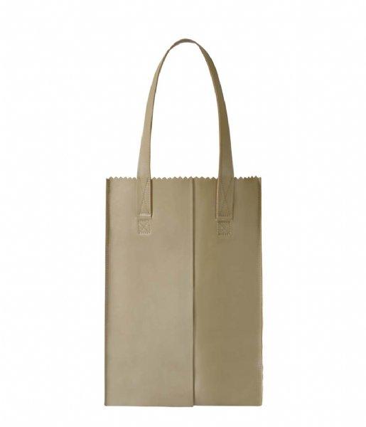 MYOMY Schoudertas My Paper Bag Long handle zip sand (1027-80)