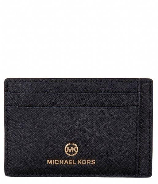 Michael Kors Pasjes portemonnee Jet Set Charm Sm Id Card Case black