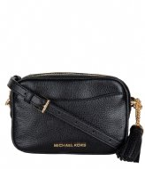 Michael Kors Small Camera Beltbag Crossbody black & gold hardware