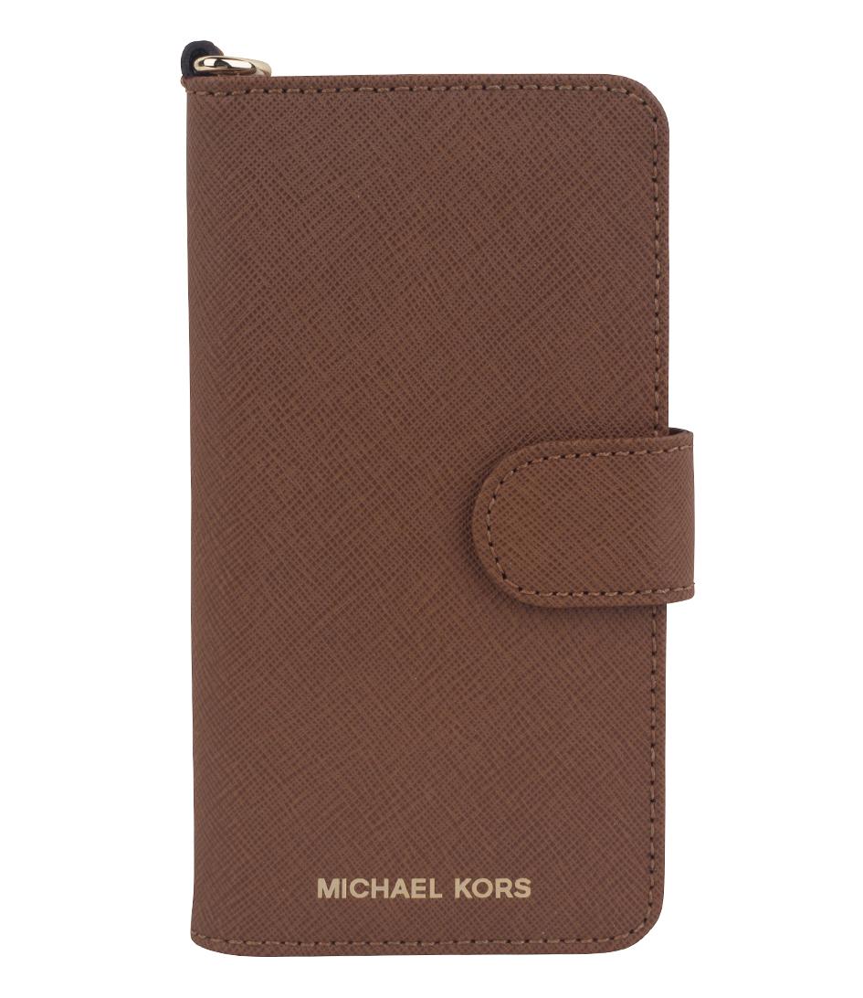 folio phone case iphone 7 luggage gold hardware michael. Black Bedroom Furniture Sets. Home Design Ideas