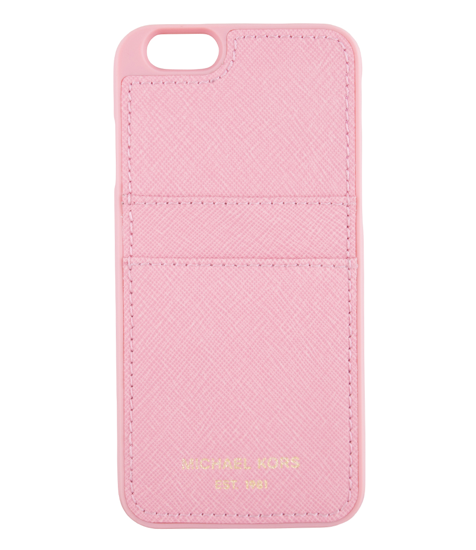 Iphone 6 cover misty rose michael kors the little green bag for Housse iphone 6 michael kors