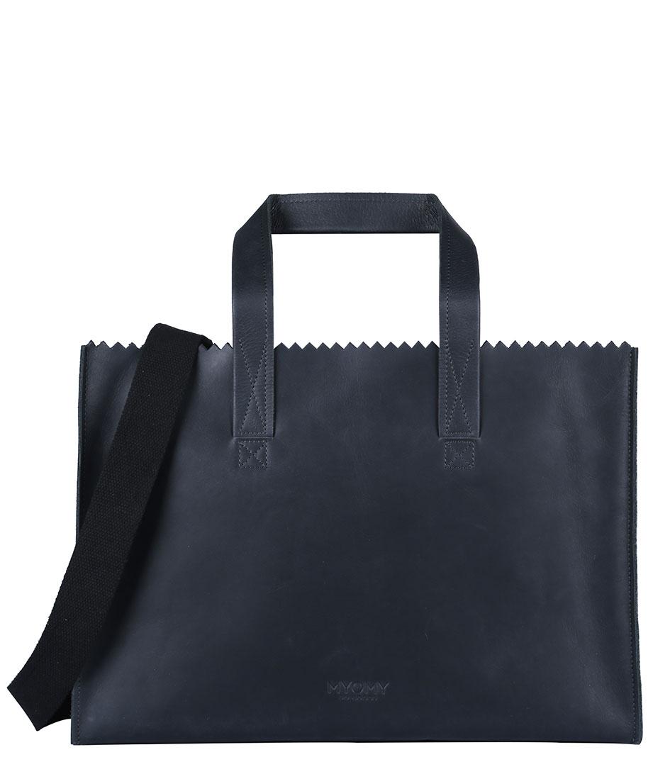 MYOMY Luiertassen My Paper Bag Baby Zwart