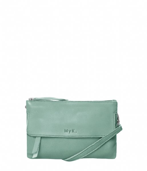 MyK Bags Clutch Bag Wannahave Mint