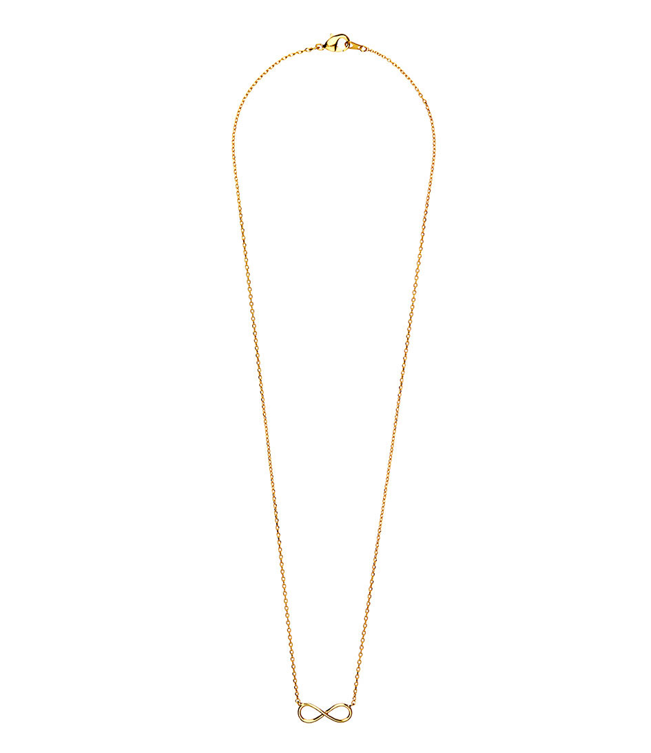 Orelia Kettingen Infinity Necklace