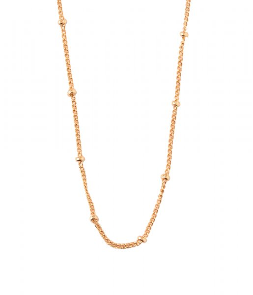 Orelia Ketting Satellite chain EDT gold plated (ORE24420)